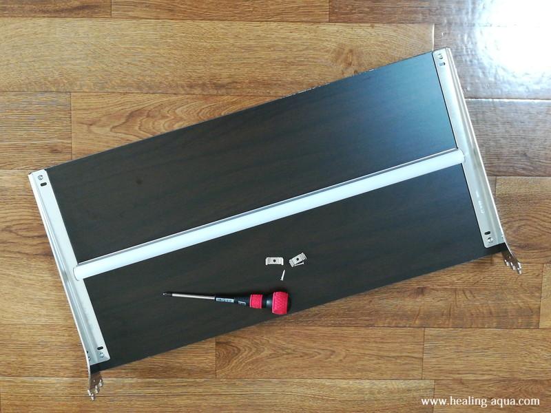 器具一体型のLED蛍光灯20wを取り付け作業-1イメージ