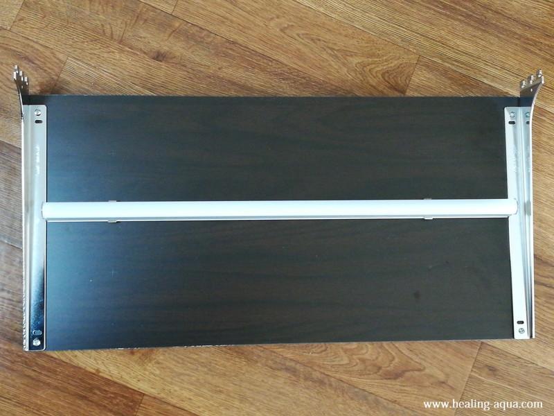 器具一体型のLED蛍光灯20wを取り付け作業-4照明取り付け完成