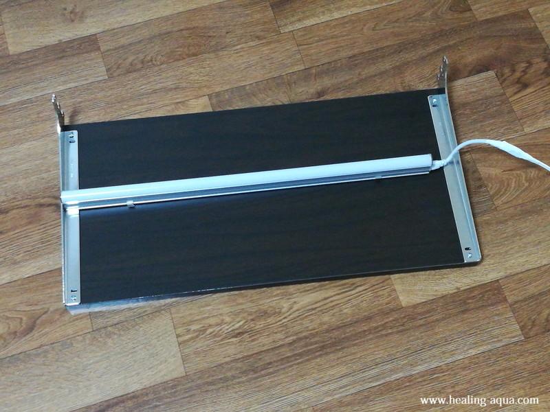 器具一体型直管LED蛍光灯1灯設置