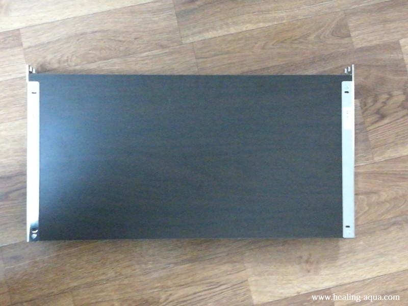 短くなった器具一体型直管LED蛍光灯取り付け板