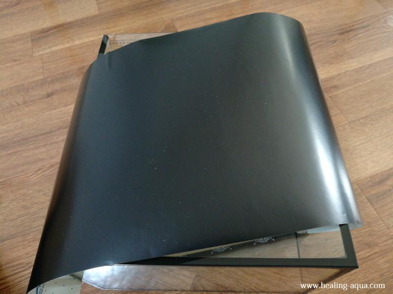 ARTI(アルティ)バックスクリーン ジェットブラック(35×50cm)