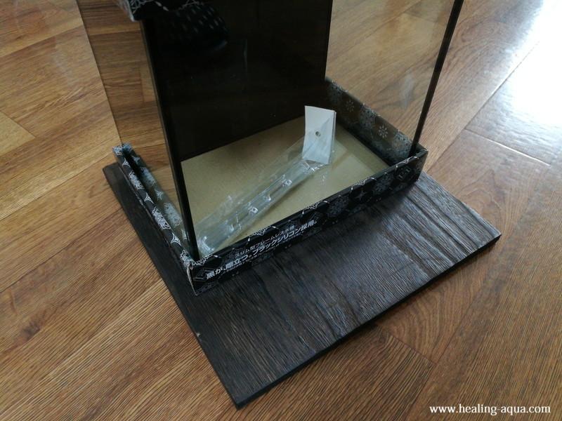 25cm水槽を置き寸法を決める