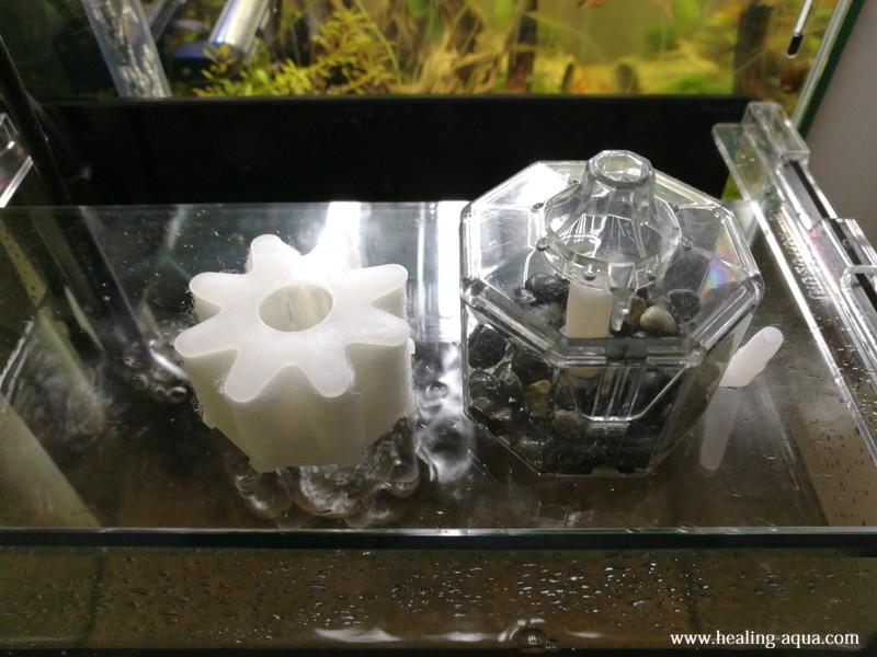 投げ込み式フィルター水作エイトコアミニ