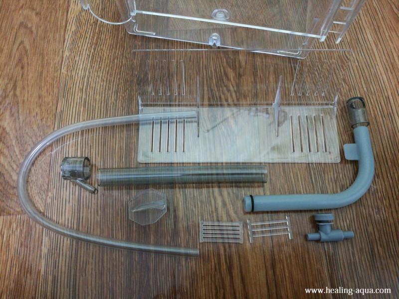 サテライト外掛式飼育ボックスの部品類