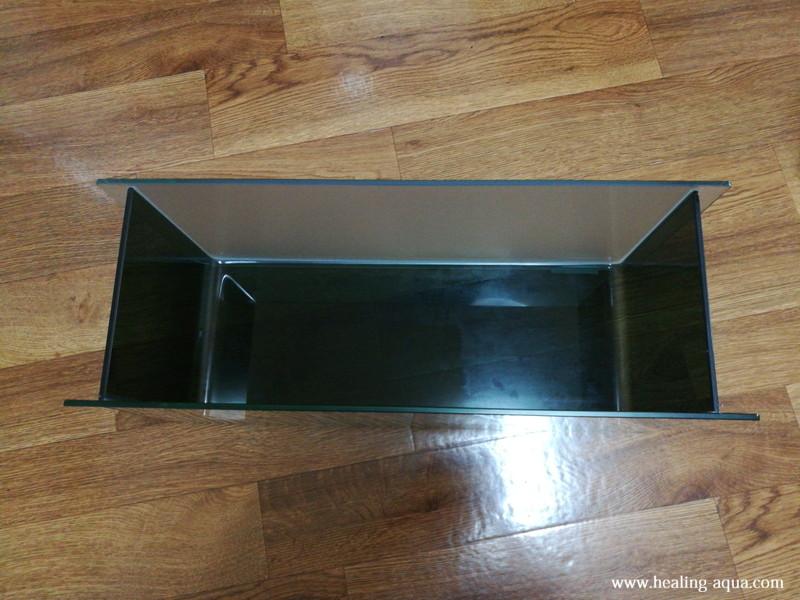 ブラック(黒白)ビーシュリンプ用水槽立ち上げアーク500水槽