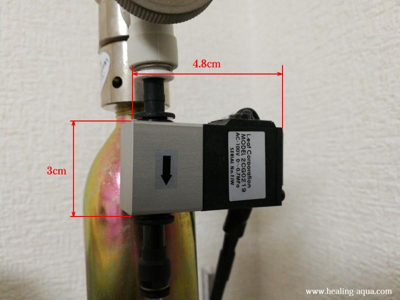 Leaf小型CO2用電磁弁(2CG0219)