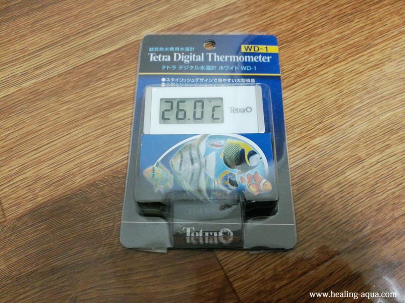 テトラ水温計WD-1パッケージ