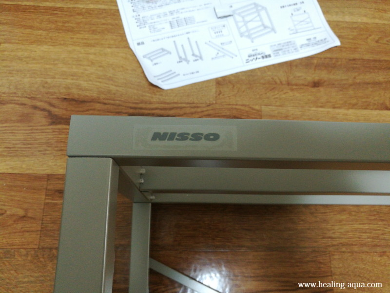 NCS-030水槽台NISSOロゴシール