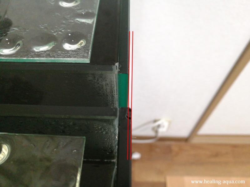 30cmキューブ水槽コトブキ工芸レグラスクリスタルキューブ300の大きさ違い