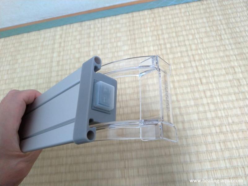 コトブキ工芸フラット(FLAT)LED300クリアスタンド取り付け